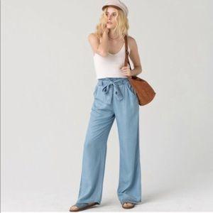 Thread supply chambray pants